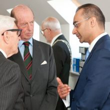 Saj Wajed meets the Duke